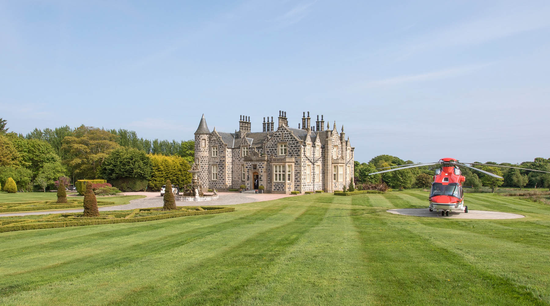 MacLeod House & Lodge, Aberdeenshire, Scotland